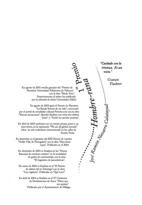 Cubierta de Capítulo del Libro del I Concurso de Cuentos de Agua