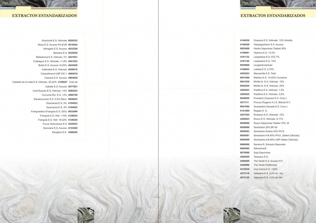 Catalogue layout - Inner double page - Products