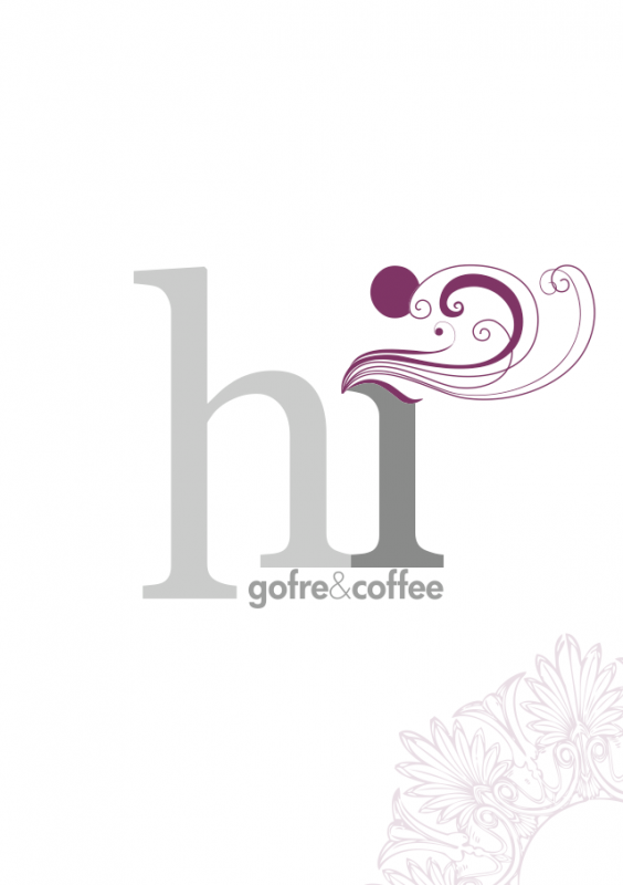 Graphic identity application for Hi Gofre&Cofee (list)