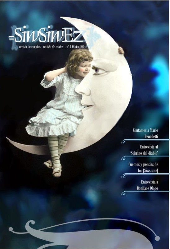 magazine layout - Cover for first issue of Siwsiwez magazine