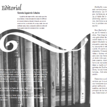 Storytelling magazine layout