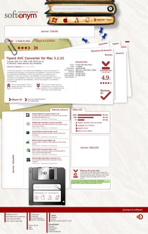 Página de Producto